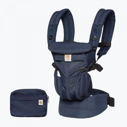 Ergobaby Ergobaby - Porte-Bébé Omni 360 Cool Air/Omni 360 Cool Air Baby Carrier, Filet Bleu Minuit/Midnight Blue Mesh