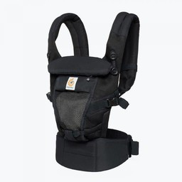 Ergobaby Ergobaby - Porte-Bébé Adapt Cool Air/Adapt Cool Air Baby Carrier/Filet Noir Onyx/Onyx Black Mesh