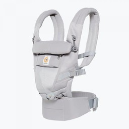 Ergobaby Ergobaby - Porte-Bébé Adapt Cool Air/Adapt Cool Air Baby Carrier/Filet Gris Perle/Pearl Grey Mesh