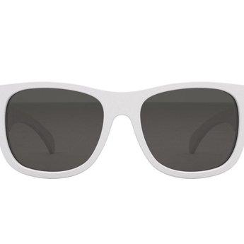 Babiators Babiators - Lunettes de Soleil Navigateur/Navigator Sunglasses, Blanc Edition Limite/White Limited Edition