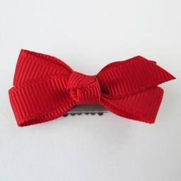 Baby Wisp Baby Wisp - Mini Barrette Boucle Chelsea/Mini Latch Wisp Clip Chelsea, Rouge/Red