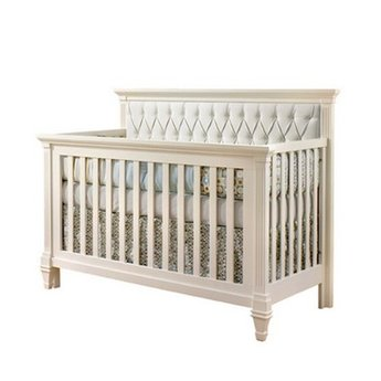 natart belmont lit de b b convertible 5 en 1 avec panneau rembourr 5 in 1 convertible crib. Black Bedroom Furniture Sets. Home Design Ideas
