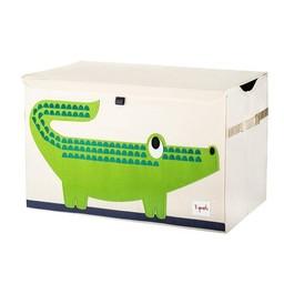 3 sprouts Coffre à Jouets de 3 Sprouts/3 Sprouts Toy Chest,Crocodile/Crocodile