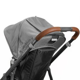 UPPAbaby UPPAbaby Vista - Recouvrements de Guidon en Cuir/Leather Handlebar Covers Brun/Saddle