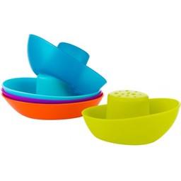 Boon Boon - Jouets pour le Bain Flotte de Bateaux/Fleet Stacking Boats Bath Toys