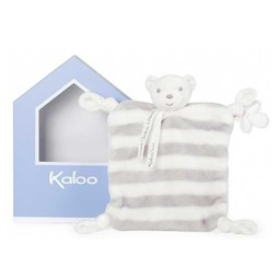 Kaloo Kaloo - Pastel, Doudou Ours Gris Bébé /Bebe Grey Bear Doudou