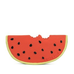 Oli & Carol Oli & Carol - Jouet de Dentition/Teether Toy, Wally le Melon D'eau/Wally the Watermelon