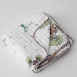 Little Unicorn Little Unicorn - Couette en Mousseline de Coton/Cotton Muslin Quilt, Le Petit Prince/The Little Prince
