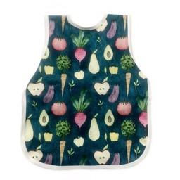 Bapron Baby Bapron Baby - Bavoir Sans Manche/Bib Without Sleeve, Légumes Biologiques/Organic Produce