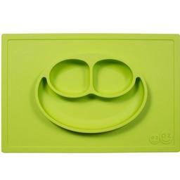 Ezpz Napperon et Assiette Tout-en-un Happy Mat d'Ezpz/Happy Mat All-in-one Placemat and Plate by Ezpz, Lime