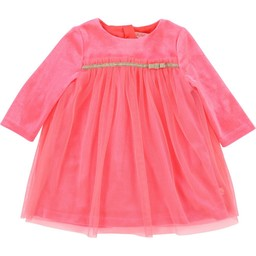 Billieblush BillieBlush - Robe Rose à Boucle/Pink Dress with Knot