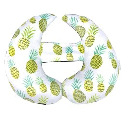 Oops Oops - Coussin de Tête Évolutif/Scalable Head Cushion, Ananas/Pineapple