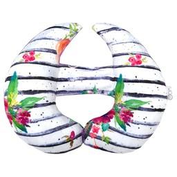 Oops Oops - Coussin de Tête Évolutif/Scalable Head Cushion, Ligné/Striped