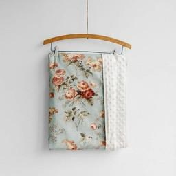 Petite Lou & Co Petite Lou & Co - Couverture pour Bassinette/Blanket for Crib, Anne