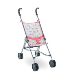 Corolle Copy of Corolle - Poussette Parapluie Cerise pour Poupée/Cherry Umbrella Stroller for Doll
