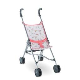 Corolle Copy of Corolle - Poussette Parapluie Cerise pour Poupée/Cherry Umbrella Stroller for Doll