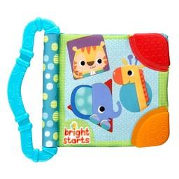 Bright Starts Bright Starts -Jouet de Dentition et Lecture/Teethe & Read, Bleu/Blue
