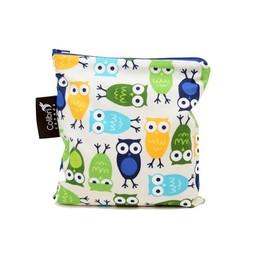 Colibri Colibri - Grand Sac à Collation/Large Snack Bag, Owls/Hiboux