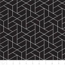 Coussin Etc. Coussins Etc - Grand Coussin de Microbilles/Big Cushion of Microbeads, Géo Noir/Black Geo