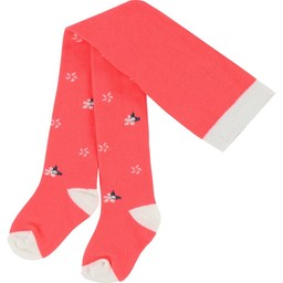 Billieblush BillieBlush - Collants Fleurs/Flowers Tights, Rose Fluo/Bright Pink