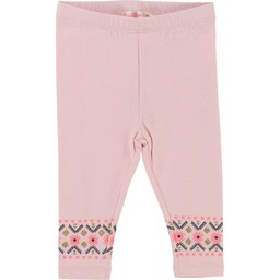 Billieblush BillieBlush - Leggings Motifs Brillants/Shiny Prints Leggings, Rose Pastel/Pastel Pink