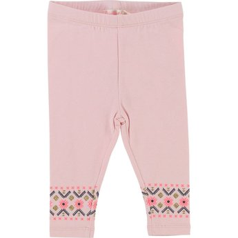 Billieblush BillieBlush - Leggings Motifs Brillants/Shiny Prints Leggings, Rose Pastel/Pastel Pink