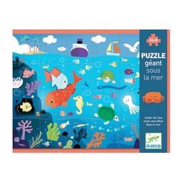 Djeco Djeco - Cass-Tête Géant, Sous la Mer/Giant Puzzle, Under the Sea