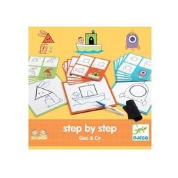 Djeco Djeco - Eduludo Step by Step, Geo & Co