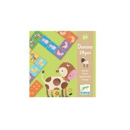 Djeco Djeco - Domino Animaux de la Ferme/Domino Farm Animals
