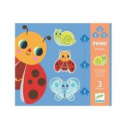 Djeco Djeco - Primo Puzzle/Primo Puzzle,  Jardin/Garden