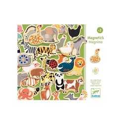 Djeco Djeco - Aimants pour le Frigo en Bois Magnetic's Magnimo/Magnimo Wooden Fridge Magnets