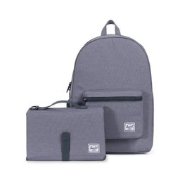 Herschel Herschel - Sac à Couches à Dos Settlement Sprout/Settlement Sprout Diaper Backpack, Gris Moyen/Mid Grey