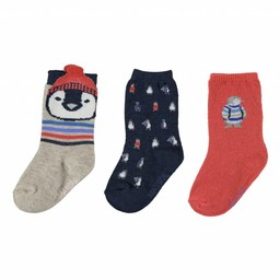 Mayoral Mayoral - Paquet de 3 Paires de Chaussettes/Set of 3 Pairs of Socks, Colorés/Colored
