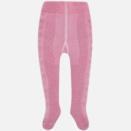 Mayoral Mayoral - Collants Texturés Roses/Textured Pink Tights