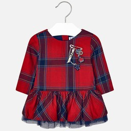 Mayoral Mayoral - Robe à Carreaux/Plaid Dress