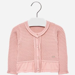 Mayoral Mayoral - Chandail à volants/Ruffle Sweater, Rose/Pink