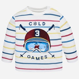 Mayoral Mayoral - Chandail Cold Games Rayé/Cold Games Striped Sweater