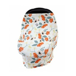 The OVer company The Over Company - Abri Multi-usages pour Bébé / Multi-Use Baby Cover, Poppy