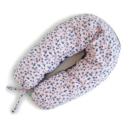Coussins Etc. Coussins Etc - Grand Coussin de Microbilles/Big Cushion of Microbeads, Rose Fraises/Strawberry Pink