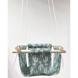 Cyan Degre Cyan Degre - Balançoire Suspendue/Suspended Swing, Cactus Vert/Green Cactus