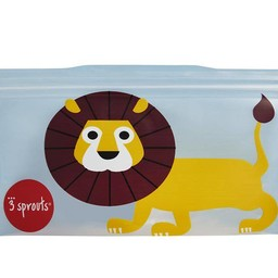 3 sprouts 3 Sprouts - Sacs à Collation/Snack Bags, Lion