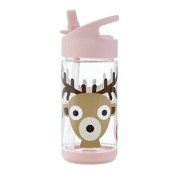 3 sprouts 3 Sprouts - Bouteille d'Eau/Water Bottle, Cerf/Deer