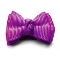Baby Wisp Baby Wisp - Barrette Mini Latch Trendy Twist/Trendy Twist Mini Latch Hairclip Violet/Purple