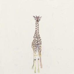 Oopsy Daisy Oopsy Daisy - Toile Bébé Girafe 14x14/ 14x14 Baby Giraffe Canvas Wall Art