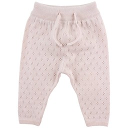 Fixoni Fixoni - Pantalon Tricot Hush/Hush Knit Pants, Rose Doux/Soft Rose