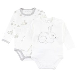 Fixoni Fixoni - Cache-Couches Lapin Hush/Hush Rabbit Body, Motif Lapin/Rabbit Pattern