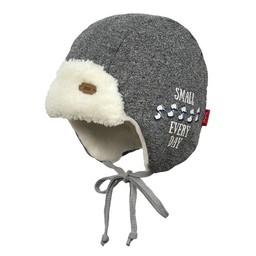Broel Broel - Tuque Elmo/Elmo Hat, Gris Chiné/Heather Grey