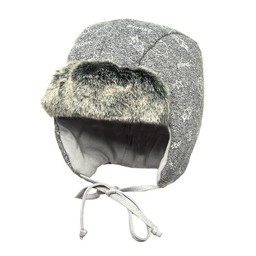 Broel Broel - Tuque Fox/Fox Hat, Gris Chiné/Heather Grey