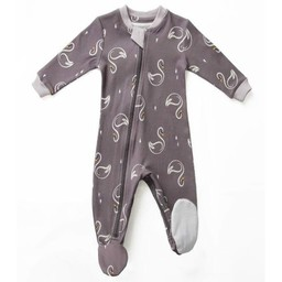 Zippy Jamz Zippy Jamz - Pyjama à Pattes/Footie, Cygne Dormeur/Sweet Sleepy Swans