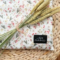 Maovic Maovic - Oreiller de Sarrasin/Buckwheat Pillow, Petites Fleurs/Small Flowers
